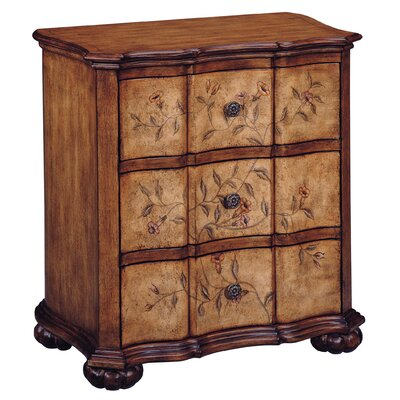 Pennypacker Floral 3 Drawer Accent Chest