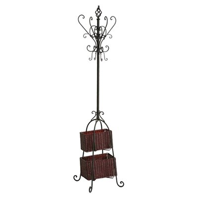 Magestic Coat Rack with Storage