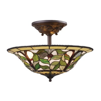 Wadsworth 3 Light Semi Flush Mount