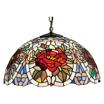 Diane 3-Light Bowl Pendant