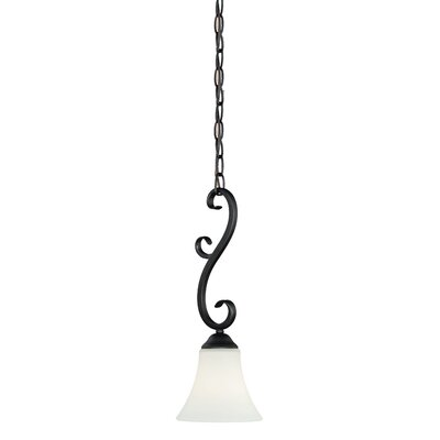 Auerbach 1-Light Mini Pendant Finish: Oil Burnished Bronze