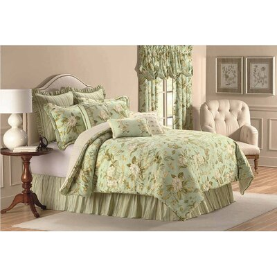 Williamsburg Grandiflora Cotton Boudoir/Breakfast Pillow Size: 18 H x 18 W