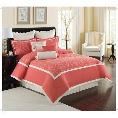Eve 4 Piece Comforter Set Size: Full