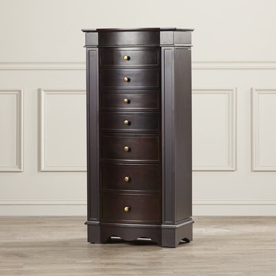Julie Jewelry Armoire with Mirror