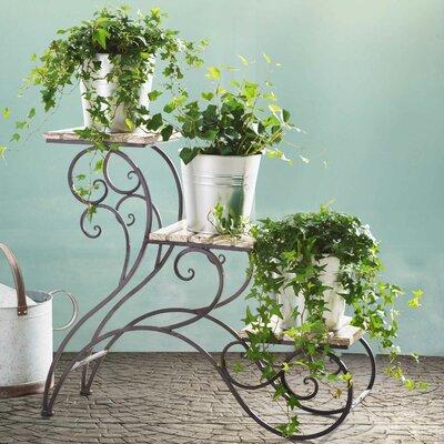 Elderberry Multi-Tiered Plant Stand