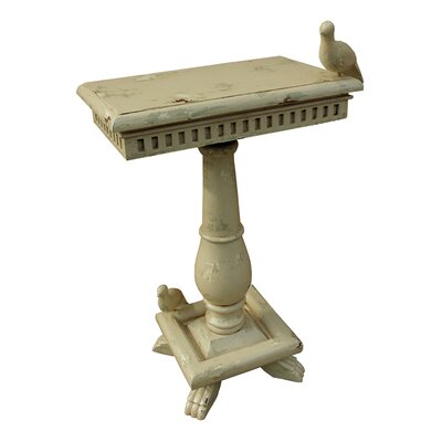 Ardana End Table Color: Cream