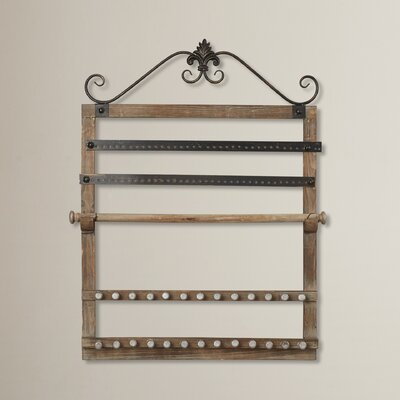 Jacey Wall-Mount Jewelry Holder