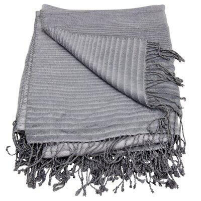 Housman Throw Blanket Color: Steel Grey