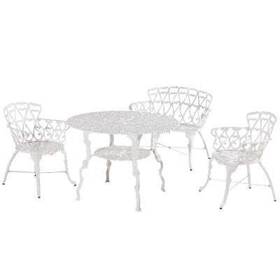 Huma 4 Piece Dining Set
