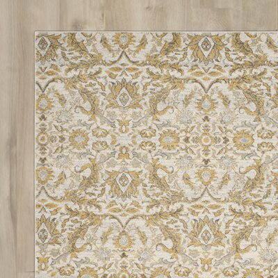 Hermione Ivory/Gold Area Rug