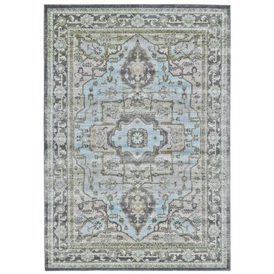 Reimer Taupe/Castle Area Rug Rug Size: Rectangle 5 x 8