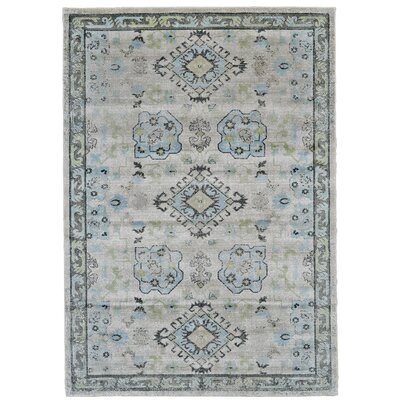 Reimer Birch/Sterling Area Rug Rug Size: Rectangle 5 x 8