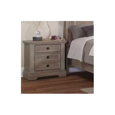 Halleck 3 Drawer Nightstand