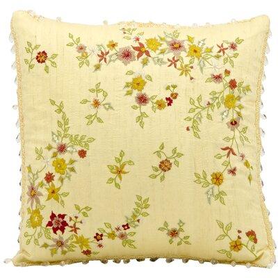 Wittenburg Embroidery Silk Throw Pillow