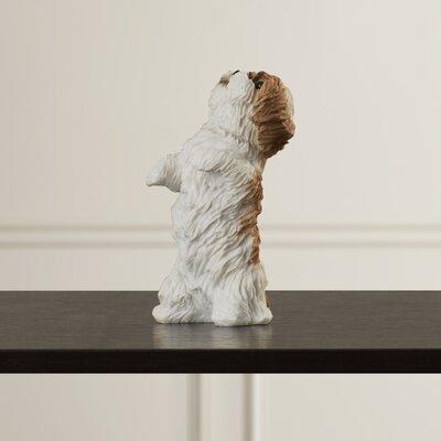 Begging Shih Tzu Figurine