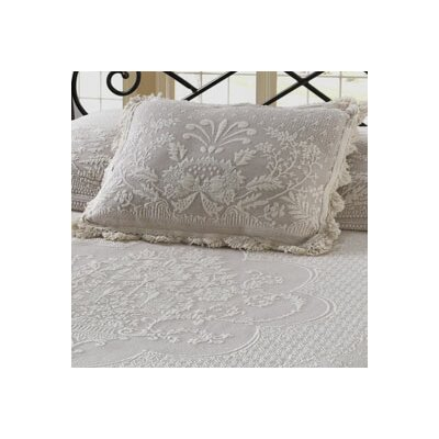 Erich Pillow Sham Size: King, Color: Antique