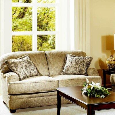 Cristina Loveseat Upholstery: Lifeline Beige / Penmere / Eliz. Ash