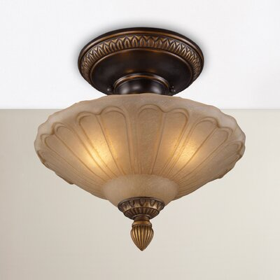 Albreda 3-Light Semi Flush Mount