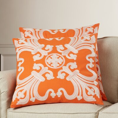 Scatter Cotton Throw Pillow Size: 18