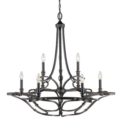 Crebilly 9-Light Candle-Style Chandelier
