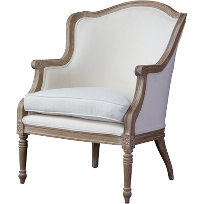 Dowlen Studio Charlemagne Traditional French Arm Chair