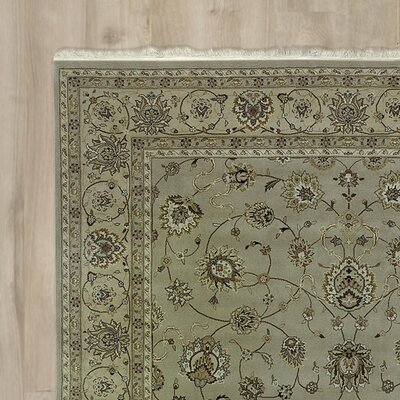 Franciscan Handmade Beige Area Rug Rug Size: Rectangle 116 x 86