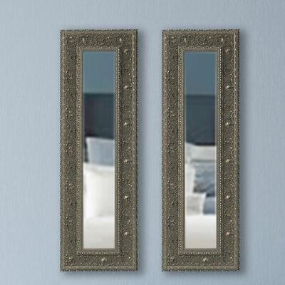 Opulent Wood Panel Mirror Size: 23.5