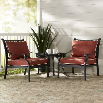 Nadine 3 Piece Seating Group with Cushions
