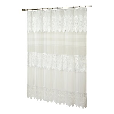 Franklyn Sheer Shower Curtain