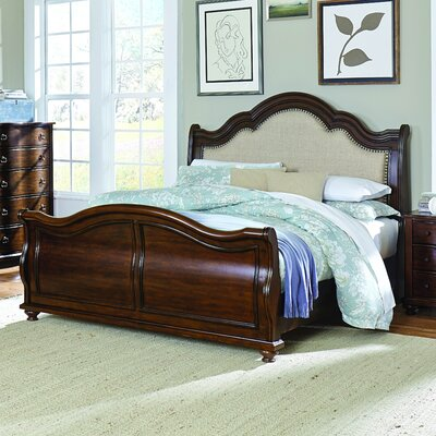 Mahaffey Upholstered Sleigh Bed