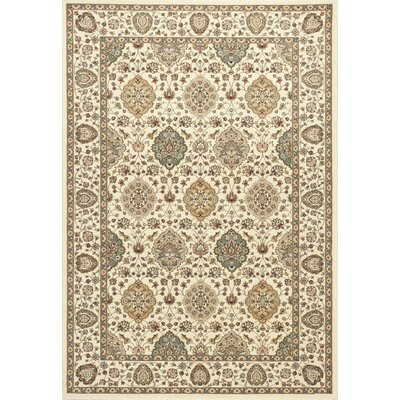 Arietta Ivory Area Rug Rug Size: Rectangle 22 x 33