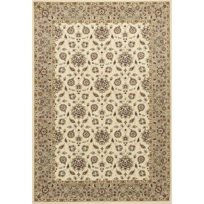 Arietta Ivory/Beige Area Rug Rug Size: Rectangle 77 x 1010