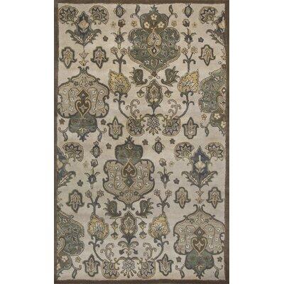 Breckler Hand-Tufted Beige Area Rug Rug Size: 8 x 106