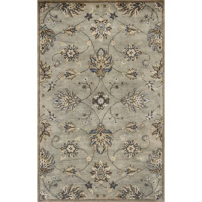 Breckler Hand-Tufted Gray Area Rug Rug Size: 8 x 106