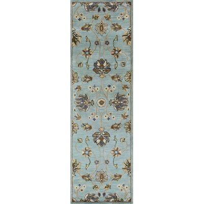 Breckler Hand-Tufted Blue Area Rug Rug Size: Runner 23 x 76