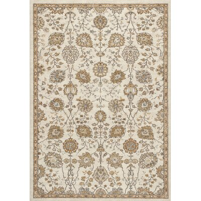 Appleridge Oatmeal/Beige Area Rug Rug Size: 53 x 77