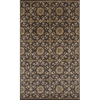 Breckler Hand-Tufted Mocha Area Rug Rug Size: 8 x 106