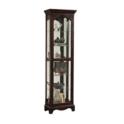 Bankhead Lighted Curio Cabinet