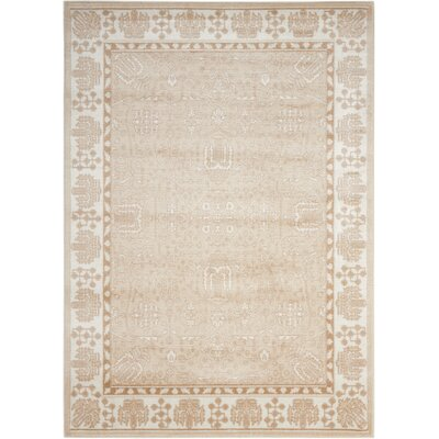 Prunella Beige Area Rug Rug Size: Rectangle 710 x 10
