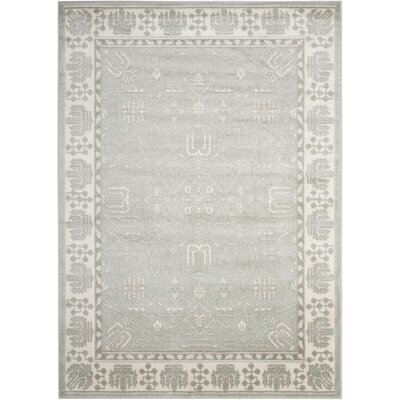 Prunella Spa Area Rug Rug Size: 53 x 73