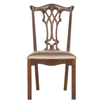Berger Side Chair Finish: Gold Mahogony