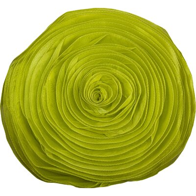 Harlowe Throw Pillow Color: Lime