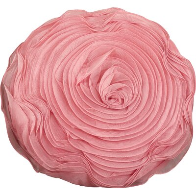 Harlowe Throw Pillow Color: Dusty Rose