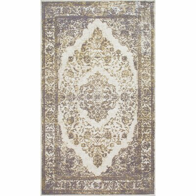 Rona Silver Area Rug Rug Size: Rectangle 6 x 9