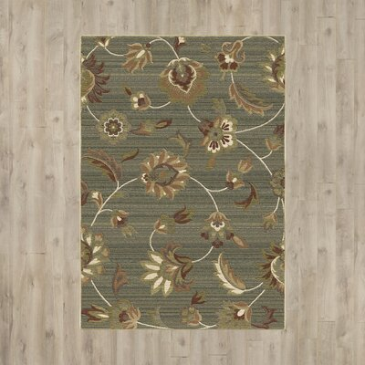 Aghafatten Green Area Rug