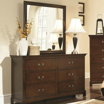 Akerman 6 Drawer Dresser