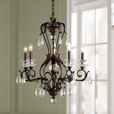 Keith 5-Light Candle-Style Chandelier