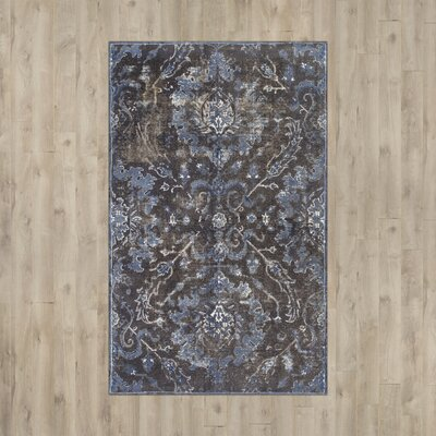 Ariana Hand Tufted Gray Area Rug Rug Size: Rectangle 5 x 8