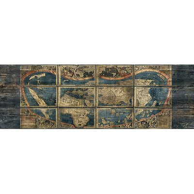 Panoramic Old World by Diego Tirigall Graphic Art on Wrapped Canvas Size: 12