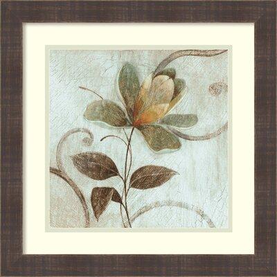 Floral Souvenir 1 Framed Graphic Art
